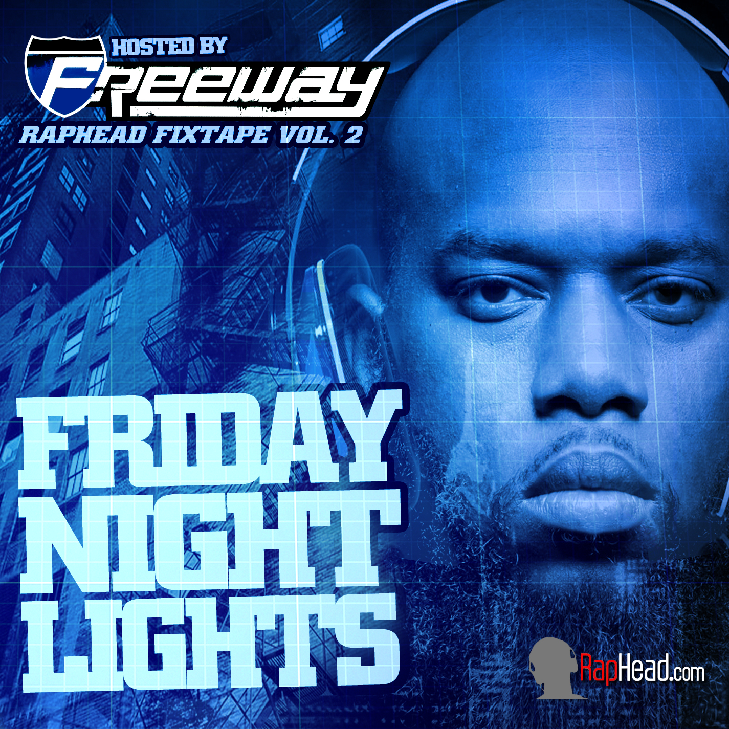 FREEWAY MIXTAPE COVER Freeway Friday Night Lights Cover [Design By IGMM1]