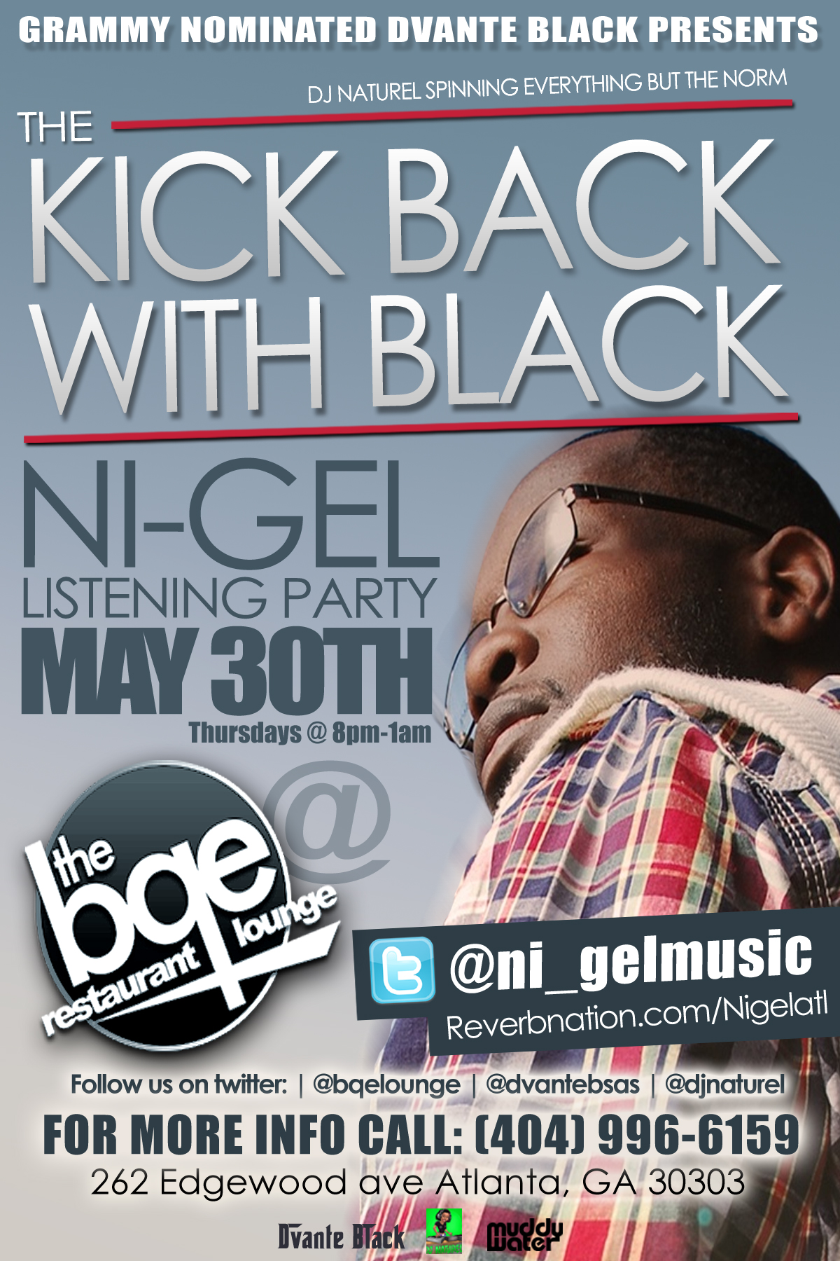 nife Nigel Listening Party Flyer [Design by IGMM1]
