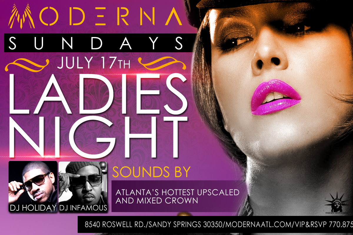 MODERNA FLYER Moderna Night Club Flyer