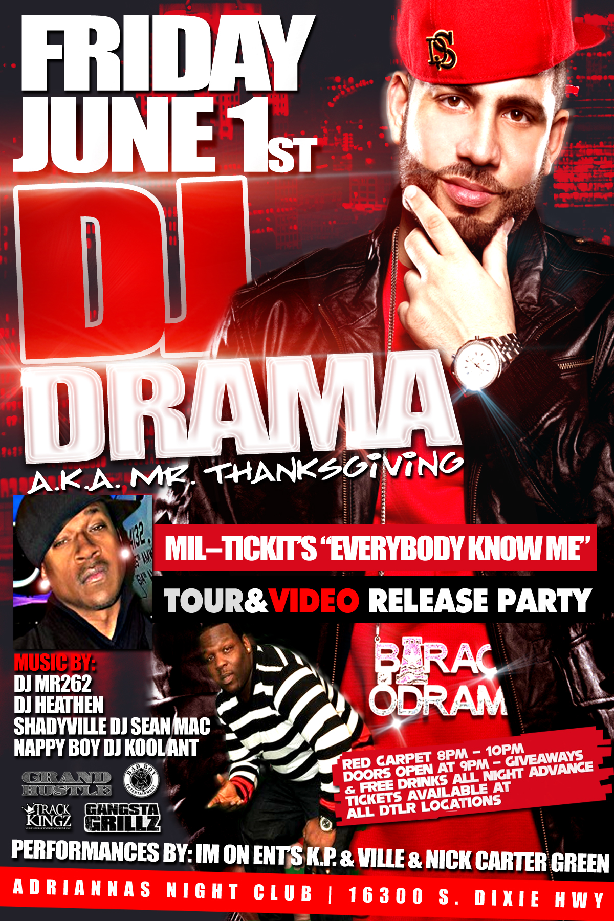 JUNE 1ST DJ Drama Release Party [By IGMM1]