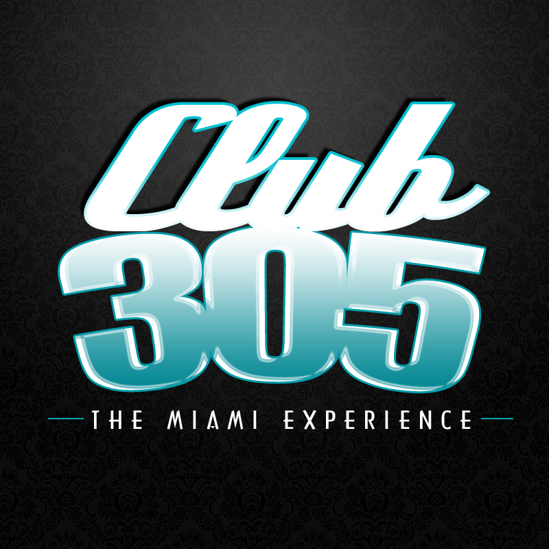 CLUB 305 LOGO 2 Club 305 logo Design [By IGMM1]