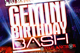 GEMINI B DAY BASH 2014 270x180 Print