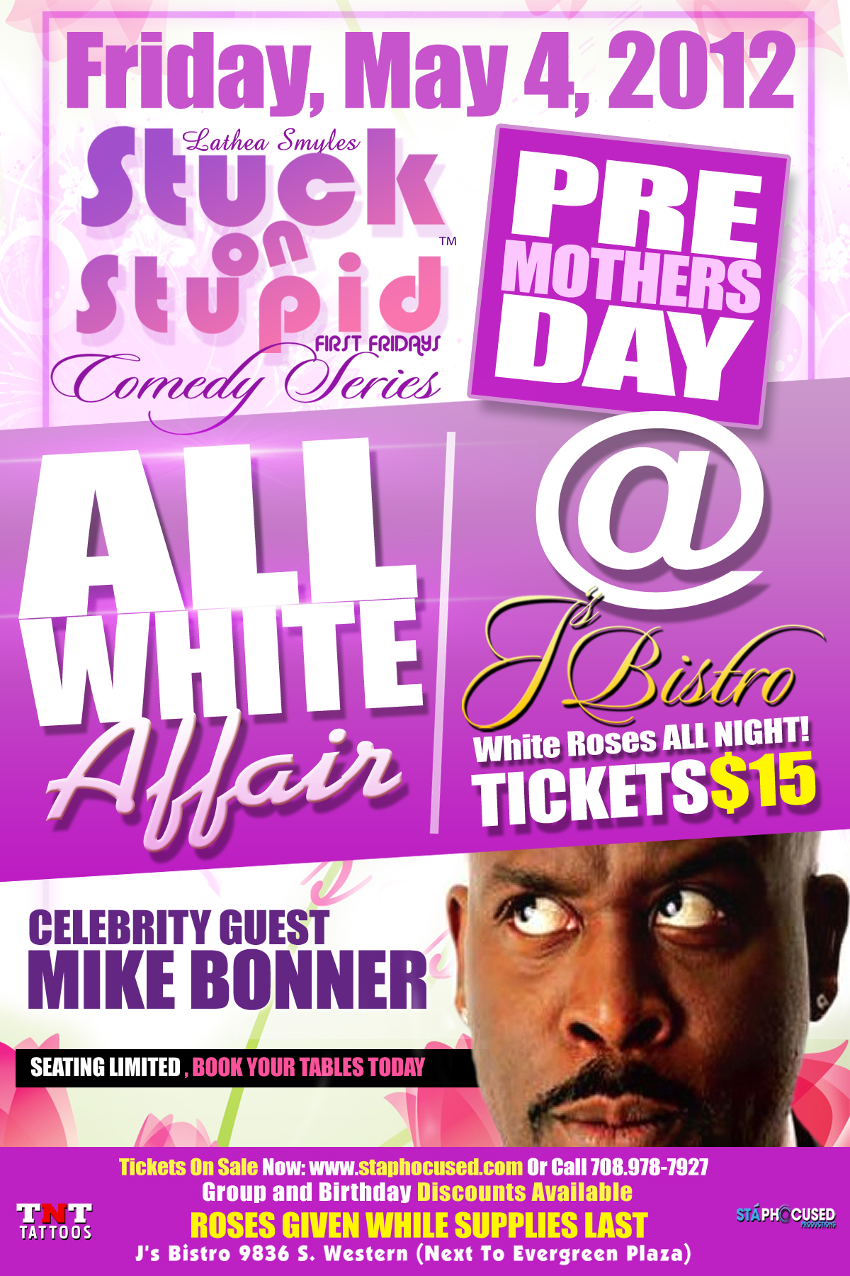 MOTERS DAY 3 2012 Comedian Mike Bonner   All White Affair [By IGMM1]