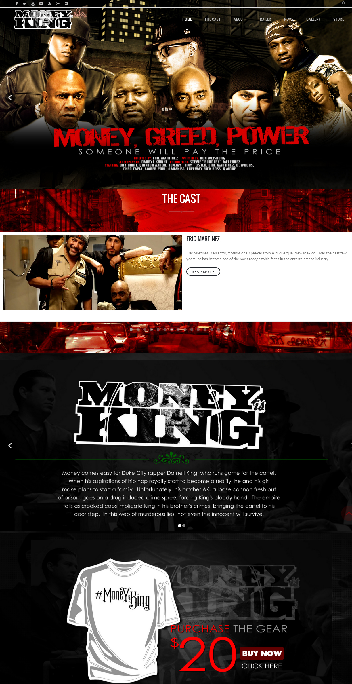 MIK LAYOUT Moneyisking.com Movie [Mobile/Desktop] Starring Quinton Aaron