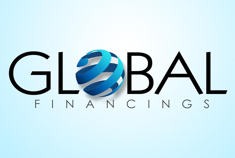 gl Global Financings Logo Design