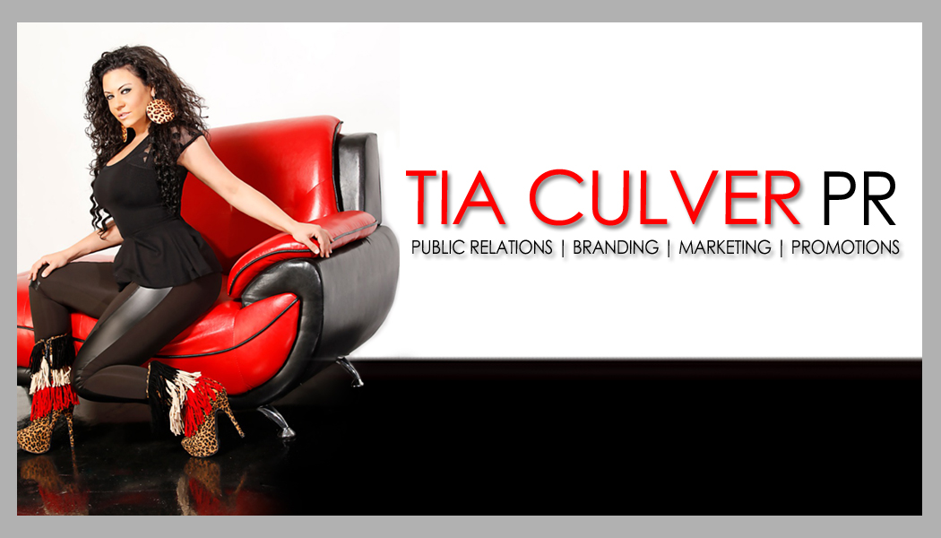 TIA FRONT Tia Culver PR Business Card [Atlanta PR]