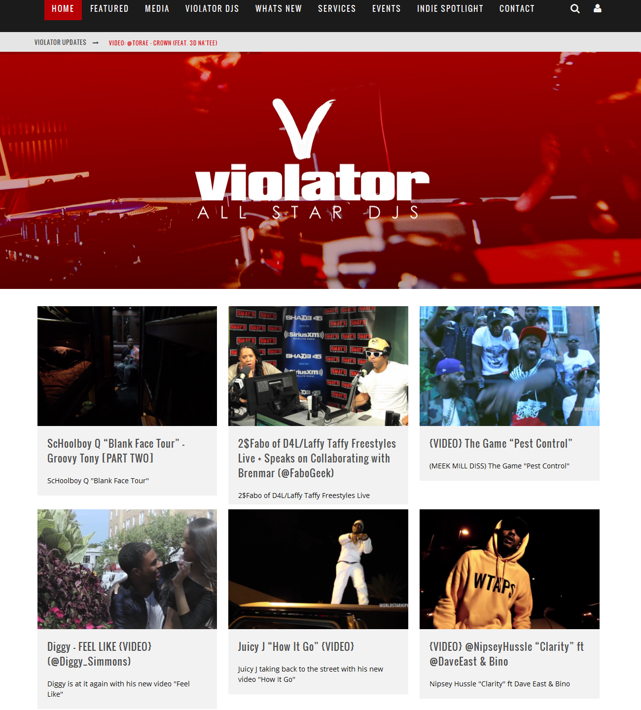 vio ViolatorDJs.com [DJ Scrap Dirty/Chris Lighty]